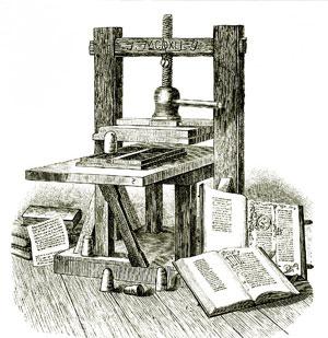 Gutenberg_presse