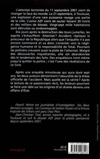 Livre AZF - 4 de Couv